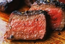 > MEAT (beef, lamb, pork etc.) / Main course recipes using beef, lamb, pork etc. / by Jacquelyn Boutall