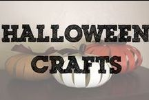 Halloween Crafts for Kids / Let's get crafting this Halloween - craft that are perfect for all your little ghouls and goblins.