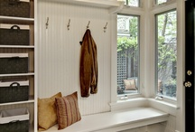 H: Entryway & Mudrooms / by Jacquelyn Boutall