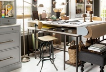 H: Office & Craft Rooms / by Jacquelyn Boutall