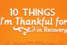 10 Things I'm Thankful for in Recovery