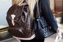 Bolsas / Inspirações em bolsas e como usá-las