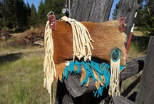 WhiteBuffaloCreation.Etsy.com / One of a Kind leather bags by White Buffalo Creations
