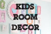 Kids Room Decor / Cute D.I.Y. ways to add some sparkle to their bedrooms!