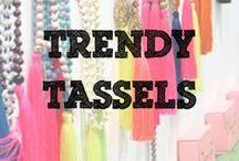 Trendy Tassels / Get inspired by Tassels this season!