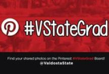 #VStateGrad (Spring 2014) / Join us in congratulating and encouraging the class of 2014 with the #VStateGrad campaign on our social media networks! Use #vstategrad to send a special note, memory or congratulations to your favorite grad, or share your last week of classes. Everyone who uses #vstategrad gets 5% on regular priced gifts and clothing at the University Bookstore, and entered in a drawing for a @vstatealumni grab bag! / by Valdosta State University