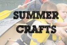 Summer Crafts / Craft and activities to do with the kids this summer.