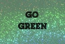 Go Green / These crafts will make you green with envy