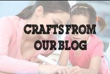 Crafts from our Blog / Our creative designers mix it up and come up with simple crafts that you can do at home - no kits required!