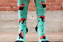 Knee High Socks / Make a style statement in these cool knee high socks! Tall socks are great with boots, dresses or just about any ensemble! What will you do with these gorgeous patterns?