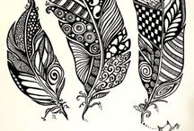 Crafty... Drawing, Zentangle, Doodles, Illustrations