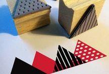 Crafty... Stamping, stencils