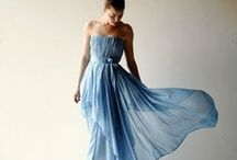 • Colorful wedding dresses for the alterntive bohemian bride • / color wedding dresses, pastel wedding dresses, blue wedding dresses, blush wedding dresses, original wedding dresses, vestiti da sposa colorati, colorful gowns, evening dresses, fairy dresses, wedding gown, bohemian bride, boho wedding dress