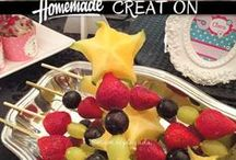 Comidinhas Crianças / Receitas, snacks e inspirações em comidinhas  para as crianças