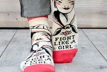 """Girl Power / Get it, gurl! What would the world do without strong women? Celebrate yourselves with these awesome """"girl power"""" socks, quotes and more!"""