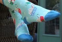 Christmas Gifts for Women / Need Christmas gift ideas for her? Well, what is she into? We've got cool and colorful women's socks featuring just about everything, from cute animals to fun hobbies. And you can never go wrong with a fun holiday print! Put these cool patterns on her toes and a smile on her face!