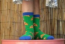 Christmas Gifts for Kids / What's cuter than little kid feet? Little kid feet in adorable socks, of course! Check out these fun and colorful sock styles for children from toddlers to big kids, featuring lots of fun and bright prints that they'll love! They make great Christmas stocking stuffer ideas!