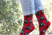 Gifts for a Cat Lover / Whether you're shopping for Christmas, a birthday or another occasion, picking out a gift for a cat lover just got easier! These cool cat socks feature some hilarious patterns with all the charm and purr-sonality of a feline friend.