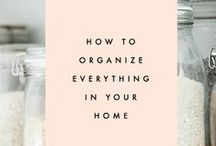 An Organized Life / by Hillary | Honey Hive Home