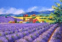 Inspiring ART / Colorful, Bold, Vibrant / by ARTnBED