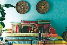 Colorful Spaces / Colorful interiors / by ARTnBED