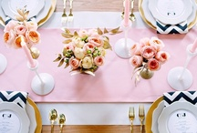 navy and everything pink. / by Jennifer Sipple