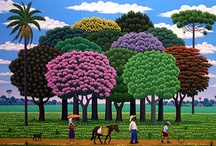 Naive ART / Selected Naive art paintings from around the world / by ARTnBED