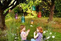Outdoor Play:  Preschool Play; Daycare; / fairy garden; kids garden; preschool garden: outdoor play: early childhood garden: outdoor playspaces: