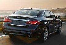 """2015 Infiniti Q70 / The all-new Q70L model features a longer wheel base, providing 6"""" of additional legroom in the back seat. The 2015 Q70 adds space, luxury and comfort without compromising the bold, athletic exterior."""