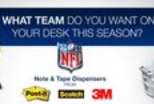 Football! / Football themed products for the office or home. Includes NFL licensed products.  / by OfficeSupply.com