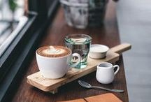 Coffee L O V E / A board that encompasses our love for coffee. Finely crafted espresso machines, coffee recipes, coffee fun facts, and beautiful latte art.