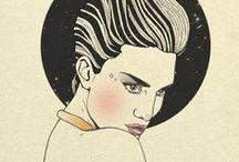 Portrait Illustrations / by Magdalena Pankiewicz