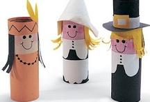 Preschool Crafts--Thanksgiving / by Debbie Eudy