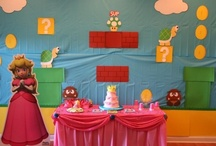 Super Mario Brothers Birthday Party / Throw a Super Mario Brothers themed party featuring Princess Peach. / by chicaandjo