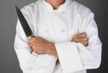 Chef / My husband is a chef. Unusually, he only works in the kitchens sometimes, the rest of the time we travel with our children. My husband is learning to blog at World Travel Chef.  This is now a group board. Send a message to pin all things related to a chef's world.