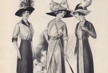 1910s Clothing & Fashion: Women / 1910 - 1919