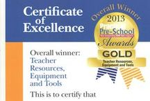 Yellow Door Awards / Recent awards from the education industry for Yellow Door products