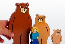 Goldilocks and the Three Bears / A range of exciting Goldilocks and the Three Bears resources for EYFS activities