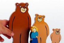 Goldilocks and the Three Bears / A range of exciting Goldilocks and the Three Bears resources for EYFS activities