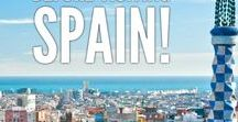 SPAIN / We love Spain! It's so under-rated, amazing food, stunning architecture, the beautiful Mediterranean, Spain has it all.
