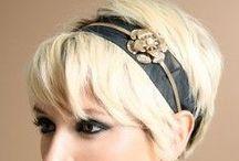 Accessories for short hair / Stile, accessori per capelli corti