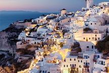 GREECE / Travel in Greece. Gorgeous Greece, it's been too long. Greek food is divine!