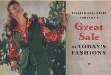 Summer 1942 Sale - Chicago Mail Order Company / 1940s Mail Order Catalog from my collection.