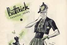 March 1939 Butterick Fashion News / 1930s sewing pattern pamphlet from my collection.
