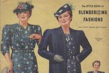 Spring and Summer 1940 Lane Bryant Catalog / Vintage 1940s plus size clothing catalog from my collection.