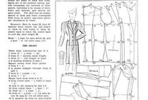 Tailoring & Dressmaking: Free Patterns, Drafts, and Resources