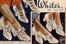 1930s Footwear: Women