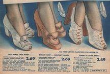 1940s Footwear: Women