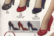 1950s Footwear: Women
