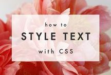 CSS / Website design and optimization with CSS3